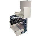 广州105SL斑马条码打印机内部结构