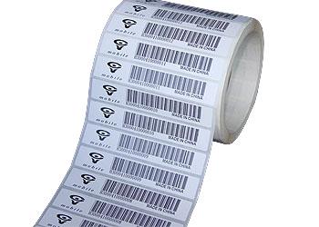 广州110XI4打印标签效果图