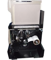 东莞110XI4打印机标签碳带安装示意图