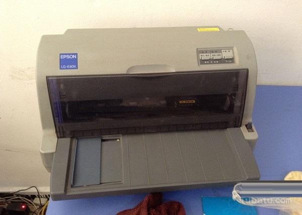 爱普生打印机630k安装方法流程