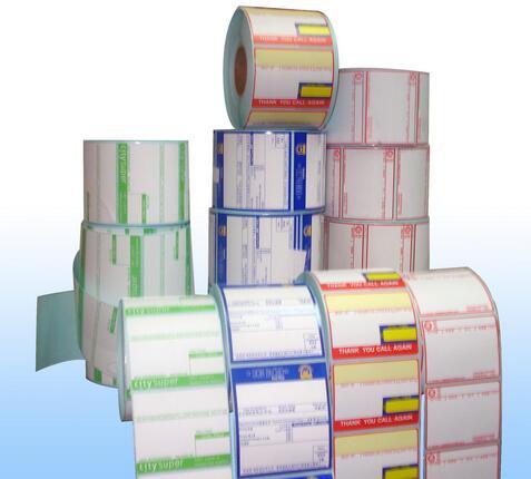 不干胶标签打印机专用条码标签