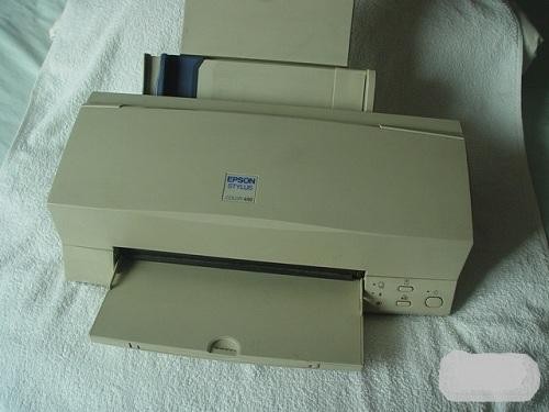 爱普生喷墨打印机维修方法